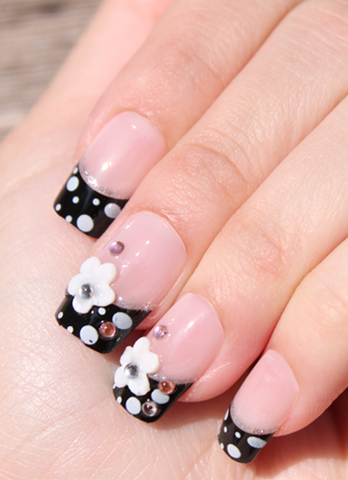 Princess Jewel 3D Stick On Nails