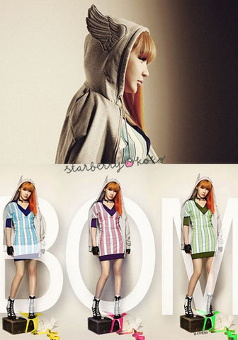 2NE1 Park Bom Angel Wing Jacket