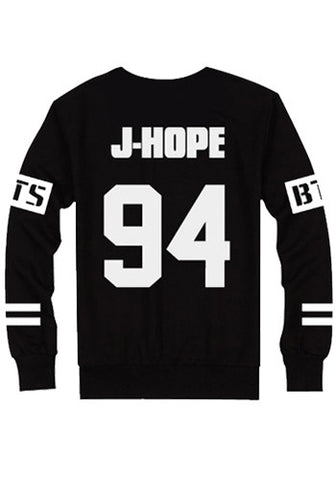 Korean Kpop Band BTS Bangtan Boys Sweater Pullover Top