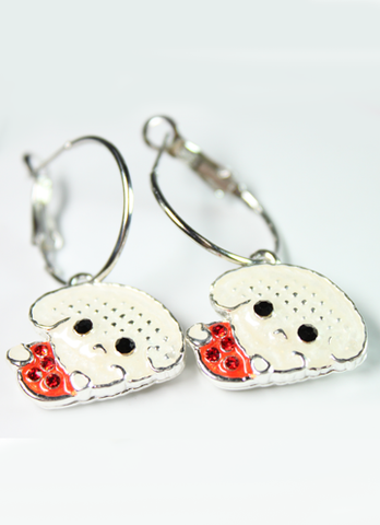 Lovely Doggie Earrings
