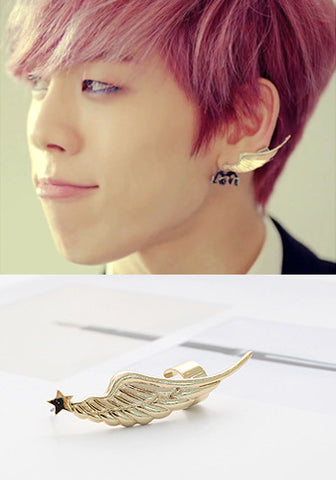Infinite Dongwoo Angel Wing Cuff Earring