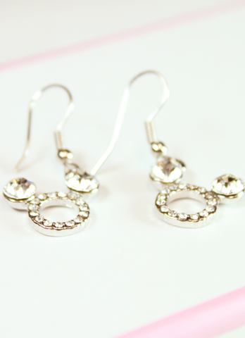 Mickey Mouse Dangle Earrings