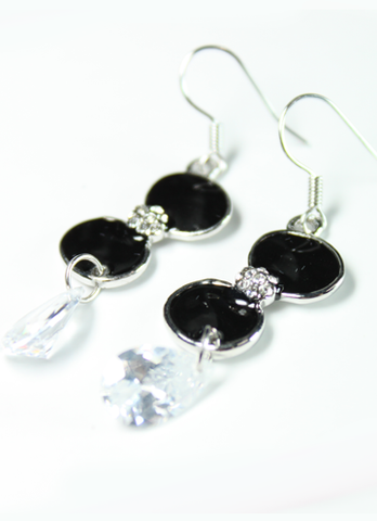 Black Jewel Earrings