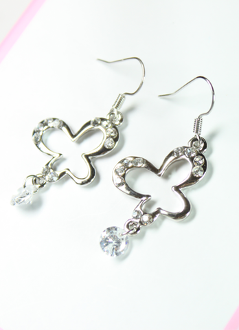 Bubbly Butterfy Earrings
