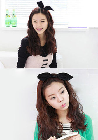 Ulzzang Style Long Wavy Synthetic Hair Wig