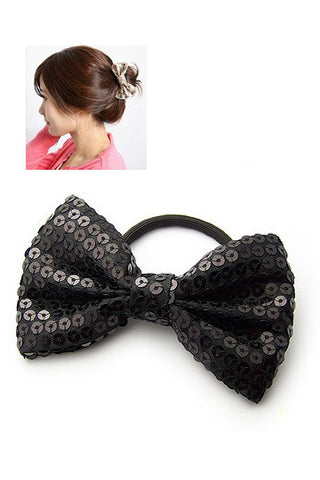 Butterfly Bow Sequin Hairband