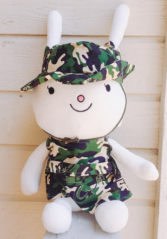 Descendants of the Sun Song Joon Ki Song Hye Kyo Fox Rabbit Plush Doll