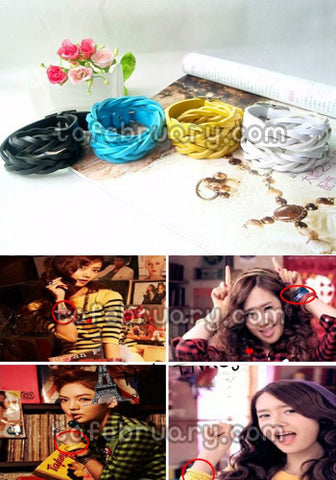 Braided Belt K-Pop Twist Bracelet