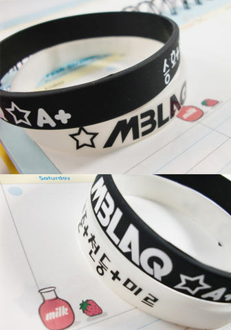 MBLAQ Silicone Jelly Wristband Bracelet