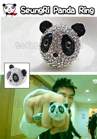 Big Bang Seung Ri Panda Head Ring