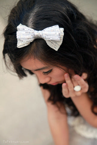 Bow Sequin Headband