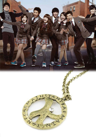 Dream High K Pendant Necklace