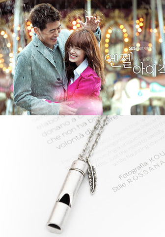 Pinocchio Choi In Ha (Park Shin Hye) Lucky Button Necklace