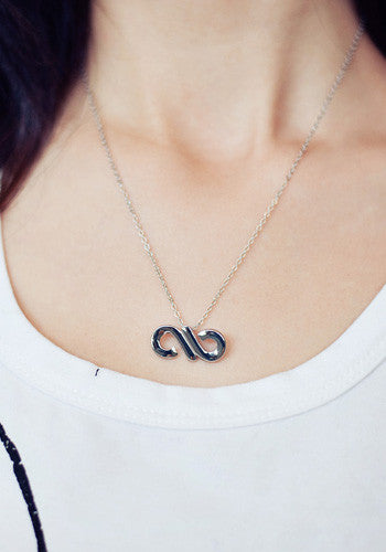 Infinite Infinity Symbol Necklace Starberrykoko