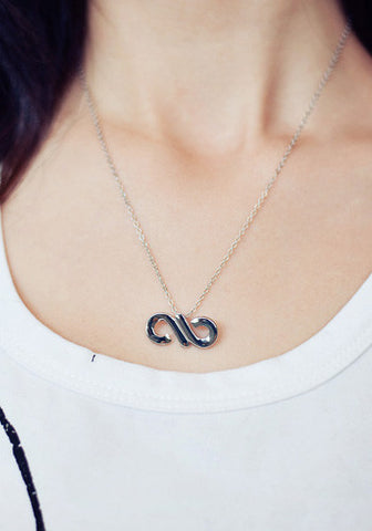 Infinite Infinity Symbol Necklace