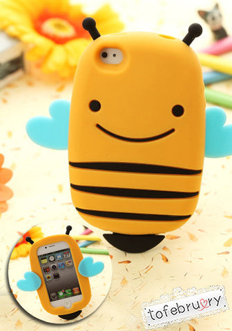 Bee Silicone Case for iPhone 5/5S