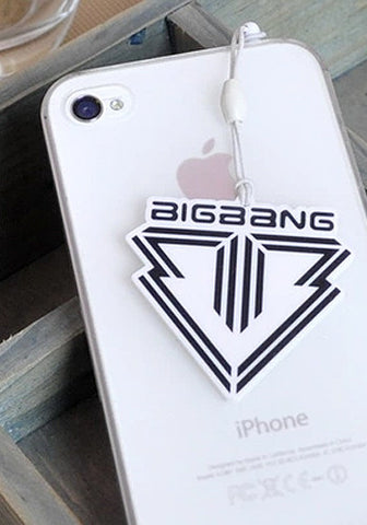 Big Bang Cellphone Dust Plug Jack Charm