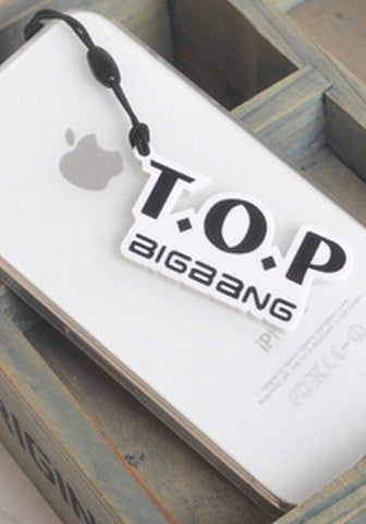 Big Bang TOP Cellphone Dust Plug Jack Charm