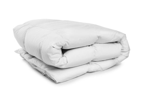 Cypress Linen Super Soft Oversized Lightweight White Down Alternative Comforter
