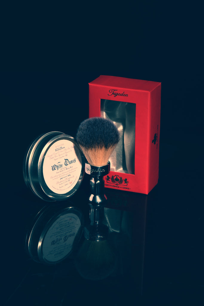 White Dunes Shaving Soap and Fortitudinem Shaving Brush