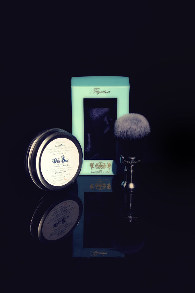 Wild Seas Shaving Soap and Calliditas Shaving Brush