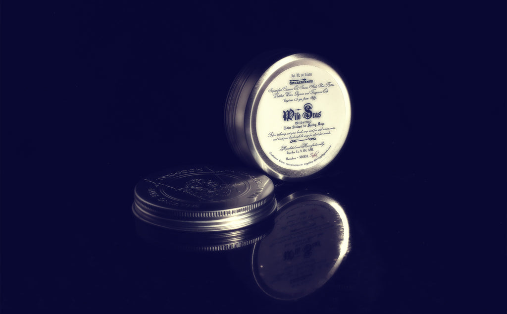 Handmade Shaving Soap - Wild Seas (80 Grams)