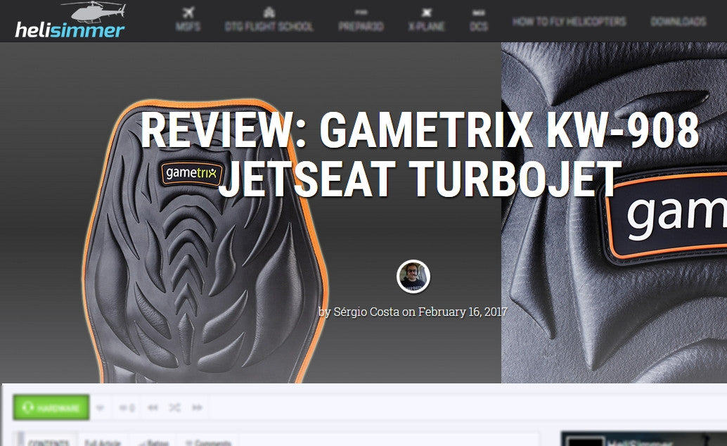 Gametrix KW-908 JetSeat TurboJet review