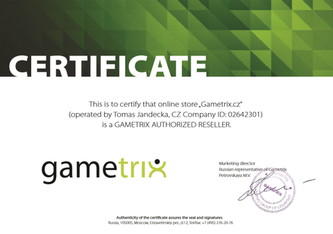 Gametrix authorized reseller