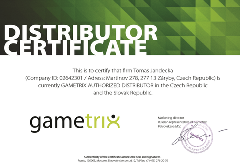 Gametrix distributor