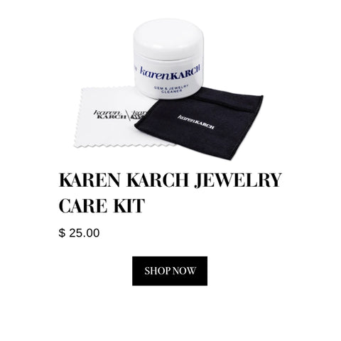 Karen Karch - Fine Jewelry Care Cleaning Kit With Travel Pouch