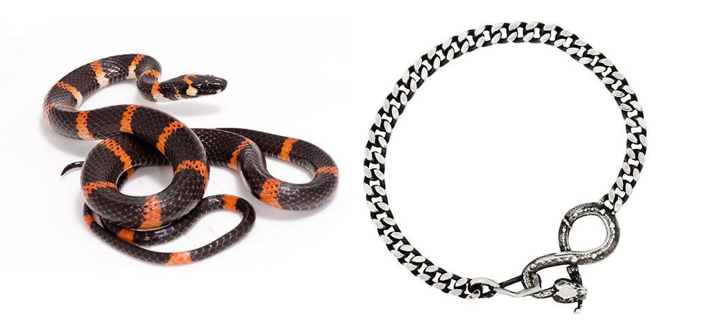 karen karch - snake bracelet halloween inspired