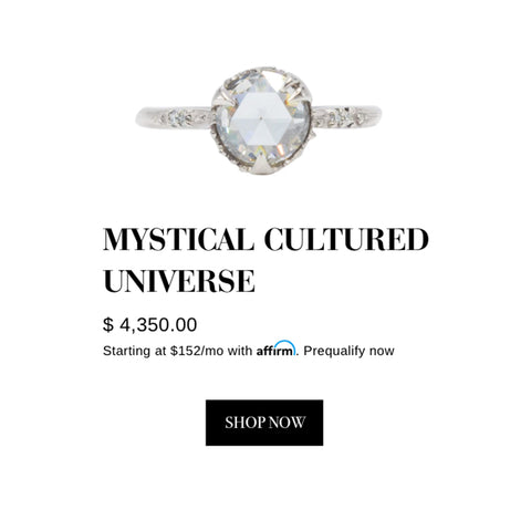 Mystical Cultured Universe Ring