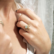 MYSTICAL COMET, Ring - Made local in New York City by the best alternative jewelry store. Shop more Karen Karch & Karch Wolfe at www.karenkarch.com or visit us at 38 Gramercy Park N.