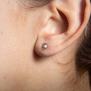MYSTICAL HEXAGON STUDS