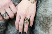 INVINCIBLE CROWN, Ring - Made local in New York City by the best alternative jewelry store. Shop more Karen Karch & Karch Wolfe at www.karenkarch.com or visit us at 38 Gramercy Park N.