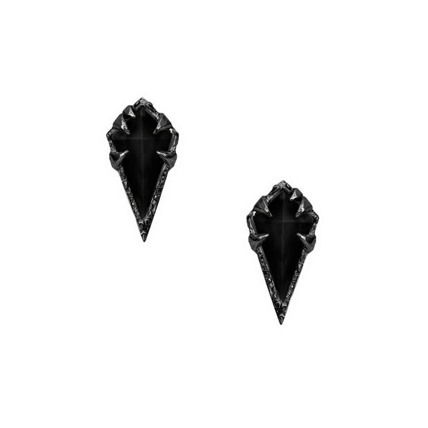 MYSTICAL DIAMOND-SHAPE STUD