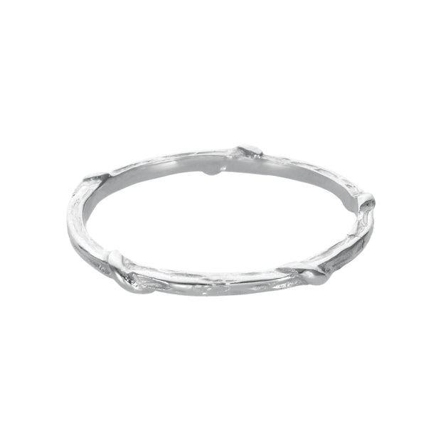 Karen Karch Vine Ring - Platinum
