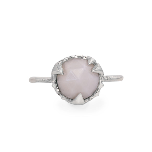 MYSTICAL SOLITAIRE, ROUND (8MM), Ring - Made local in New York City by the best alternative jewelry store. Shop more Karen Karch & Karch Wolfe at www.karenkarch.com or visit us at 38 Gramercy Park N.