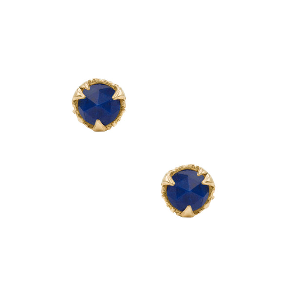MYSTICAL STUDS, ROUND (5MM), Earring - Made local in New York City by the best alternative jewelry store. Shop more Karen Karch & Karch Wolfe at www.karenkarch.com or visit us at 38 Gramercy Park N.