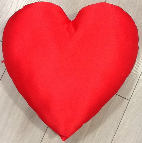 Sew it Red Heart Cushion