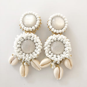 Mini Alegra White with Shells