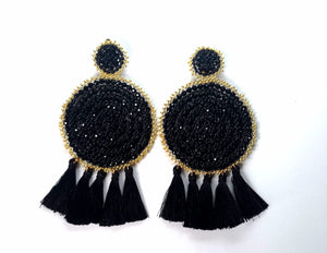 Handmade Statement Earrings - Pampa