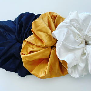 rock + bone handmade statement XL Scrunchies