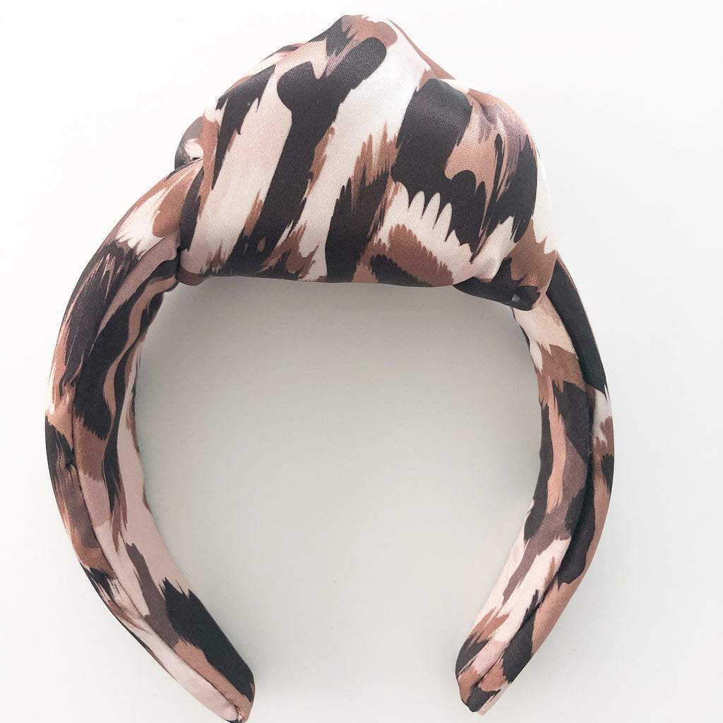 Statement Headbands with Front Knot