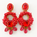 Handmade Statement Earrings - Alegra Charms