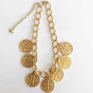 Necklace Gold Coins - Pre-Orders ONLY