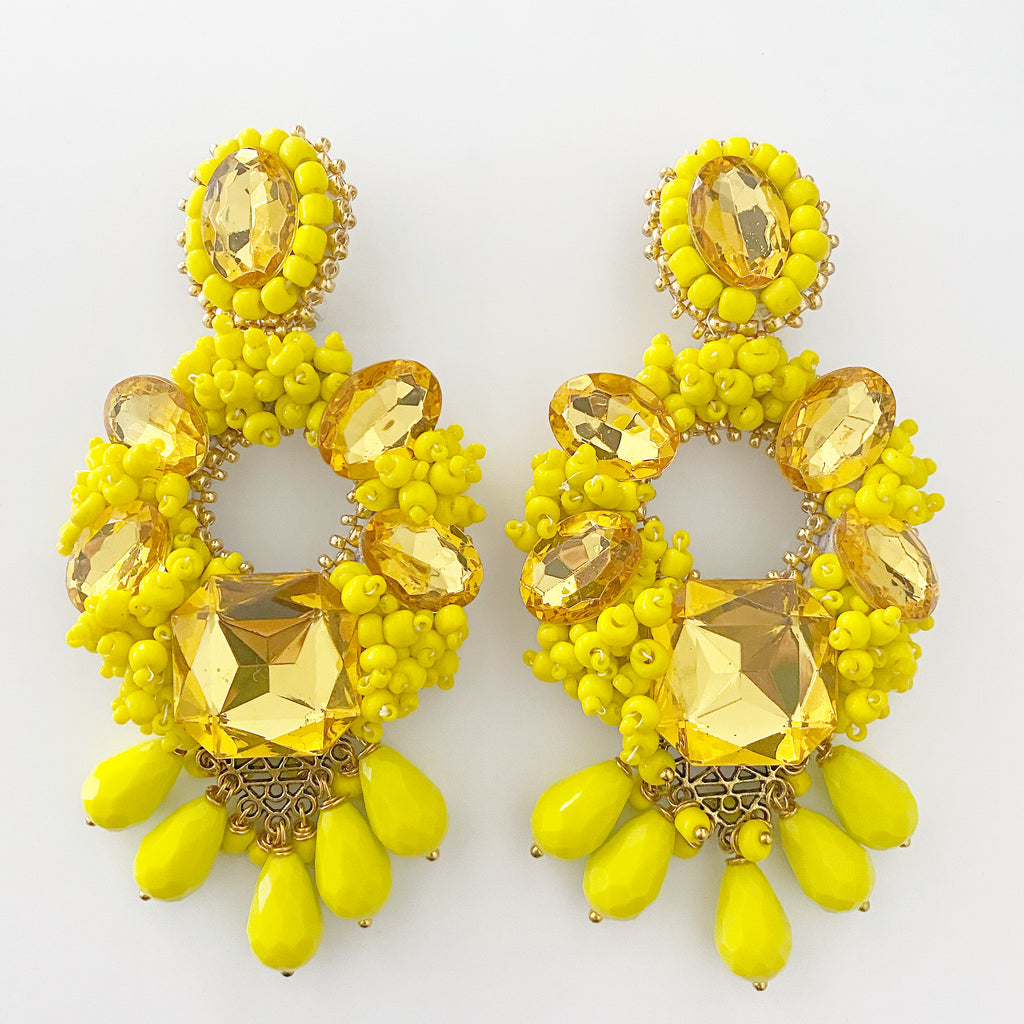 Handmade Statement Earrings Special Sneak Peak Collection