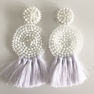 Handmade Statement Earrings - Kiara