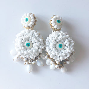 Mini Alegra Evil Eye in White Pre-Orders ONLY!