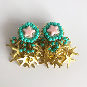 Handmade Statement Earrings - Mini Starz'